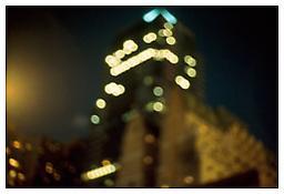 <i>Building, Eighth Avenue, NYC</i> 2000 Cibachrome Image: 20 x 30 inches; 51 x 76 cm Sheet: 26 x 36 inches; 66 x 91 cm