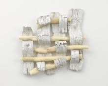 Robert Gober <I>Untitled</i> 2014-2015 Plaster, beeswax, human hair, epoxy putty, cast gypsum polymer, cast pewter, oil and enamel paint 41 x 43 x 7 inches; 104 x 109 x 18 cm