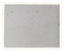 <I>Reverse Night Sky #1</i> 2014 Charcoal on acrylic ground on paper  14 x 17 1/4 inches; 36 x 44 cm