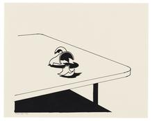 <I>Broken Cup on Table</i> 1994 Ink on paper 7 1/2 x 9 1/2 inches; 19 x 24 cm