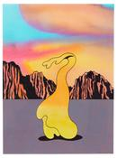 <I>The Beautiful West</i> 2005 Acrylic and ink on paper  12 x 8 3/4 inches; 31 x 22 cm