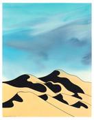 <I>Sand Dunes</i> 2006 Acrylic and ink on paper  14 x 10 3/4 inches; 36 x 27 cm