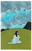 <I>Woman in Nature</i> 2004 Acrylic, ink, and colored pencil on paper  9 x 5 1/2 inches; 23 x 14 cm