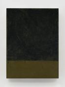 <I>Black Square</i> 2015 Oil on linen 24 x 18 inches; 61 x 46 cm