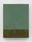 <I>Grey Square</i> 2015 Oil on linen 24 x 18 inches; 61 x 46 cm