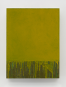 <I>Yellow Square</i> 2015 Oil on linen 24 x 18 inches; 61 x 46 cm