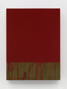 <I>Red Square</i> 2015 Oil on linen 24 x 18 inches; 61 x 46 cm