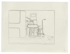 <I>Untitled (1)</i> 1996 Graphite on vellum  9 x 12 inches; 23 x 30 cm