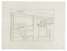 <I>Untitled (3)</i> 1996 Graphite on vellum  9 x 12 inches; 23 x 30 cm