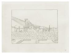 <I>Untitled (5)</i> 1996 Graphite on vellum  9 x 12 inches; 23 x 30 cm