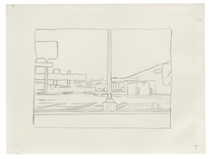 <I>Untitled (9)</i> 1996 Graphite on vellum  9 x 12 inches; 23 x 30 cm