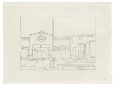 <I>Untitled (11)</i> 1996 Graphite on vellum  9 x 12 inches; 23 x 30 cm