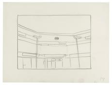 <I>Untitled (14)</i> 1996 Graphite on vellum  9 x 12 inches; 23 x 30 cm