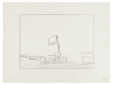 <I>Untitled (40)</i> 1996 Graphite on vellum  9 x 12 inches; 23 x 30 cm