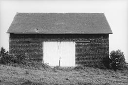 <I>Barn, Long Island</i> 1968 Gelatin silver print 8 1/2 x 12 7/8 inches; 22 x 33 cm