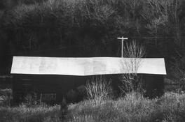 <I>Barn, Taconic</i> 1974 Gelatin silver print 8 1/2 x 12 7/8 inches; 22 x 33 cm