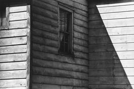 <I>Barn, Greenbush</i> 1977 Gelatin silver print 8 1/2 x 12 7/8 inches; 22 x 33 cm