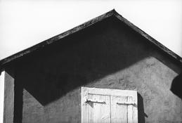 <I>Roof, St. Martin</i> 1977 Gelatin silver print 8 1/2 x 12 3/4 inches; 22 x 32 cm
