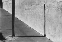 <I>Sidewalk, Los Angeles</i> 1978 Gelatin silver print 8 1/2 x 13 inches; 22 x 33 cm