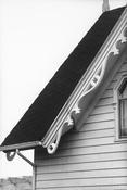 <I>Roof, Ghent</i> 1972 Gelatin silver print 12 7/8 x 8 5/8 inches; 33 x 22 cm