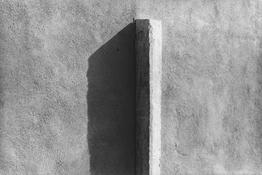 <I>Wall, Majorca</i> 1967 Gelatin silver print 8 1/2 x 13 inches; 22 x 33 cm