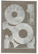 <I>Untitled</i> 2012 Monotype on Kurotani Kozo paper  36 1/4 x 24 5/8 inches; 92 x 63 cm