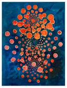 <I>Bloom</i> 2016 Oil, wax, and resin on linen 60 x 45 inches; 152 x 114 cm