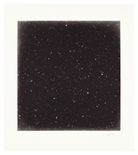 <I>Untitled #3</i> 2016 Mezzotint on Hahnemühle copperplate bright white paper in artist's frame 21 3/8 x 19 inches; 54 x 48 cm Edition of 35