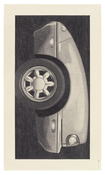 <I>Miata</i> 1990 Graphite on paper 29 1/2 x 17 1/4 inches; 75 x 44 cm