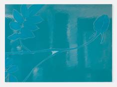 <I>Spent</i> 2016 Enamel paint on aluminum 38 5/8 x 53 1/4 inches; 98 x 135 cm