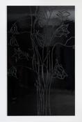 <I>No Light</i> 2016 Enamel paint on aluminum 81 3/4 x 50 1/2 inches; 208 x 128 cm