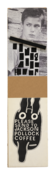 <I>Untitled (River Phoenix/Please Send to Jackson Pollock)</i> 1994 Ink and collage on board  32 x 8 inches; 81 x 20 cm