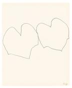 <I>Wild Grape</i> 1960 Graphite on paper 16 3/4 x 13 3/4 inches; 43 x 35 cm