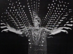 Joanne Kyger  <I>Descartes</i> 1968 Single-channel video, black and white, sound 11 minutes, 14 seconds University of California, Berkeley Art Museum and Pacific Film Archive