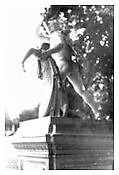 <i>Statue, Versailles</i> 1993 Gelatin-silver print 40 x 27 inches; 102 x 69 cm