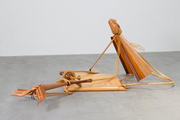 Robert Strini  <I>Goolagong</i> 1975 Laminated wood 58 x 98 x 133 inches; 147 x 249 x 338 cm
