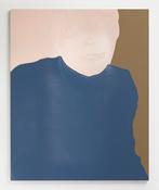 <I>Georgie</i> 2017 Enamel paint on aluminum 48 x 39 inches; 122 x 99 cm