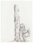 <I>1.26.15</i> 2015 Graphite on paper 12 x 9 inches; 31 x 23 cm
