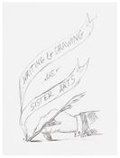 <I>6.1.15</i> 2015 Graphite on paper 12 x 9 inches; 31 x 23 cm