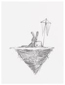 <I>4.17.16</i> 2016 Graphite on paper 12 x 9 inches; 31 x 23 cm