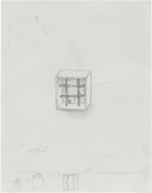 <i>Untitled</i> 2017 Graphite on paper 14 x 11 inches; 36 x 28 cm