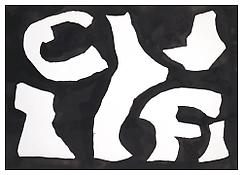 <i>Untitled</i>  1970 Ink on paper 9 x 12 15/16 inches; 23 x 31 cm