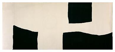 <i>Untitled</i> 1960 Oil on canvas 70 1/4 x 164 1/4 inches; 178 x 417 cm