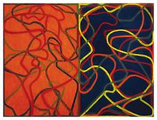 <i>Complements</i> 2004-2007 Oil on linen, two panels Each panel: 72 x 48 inches; 183 x 122 cm Overall: 72 x 96 inches; 183 x 244 cm