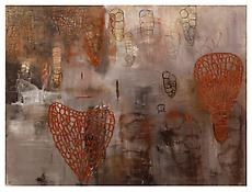 <i>Free Union</i> 1983 Oil on linen 79 x 104 1/4 inches; 201 x 265 cm