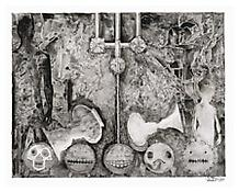 <i>Untitled</i>, 2010, Ink on plastic, 29 x 36 1/4 inches; 74 x 92 cm