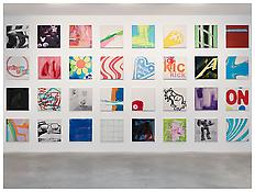 <i>Untitled</i>  1996-2002 Acrylic and silkscreen on canvas, 32 parts Each: 24 x 24 inches; 60 x 60 cm