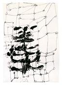 <i>Untitled 23.V.91</i> 1991 Charcoal and graphite on paper 24 x 16 1/2 inches