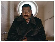 <i>Laurence Fishburne</i> 2002 C-print mounted on aluminum 30 x 40 inches; 76 x 102 cm