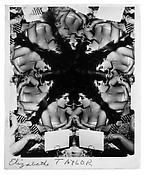 <i>Elizabeth Taylor</i>  c. 1950 Vintage silver print 9 x 7 inches; 23 x 18 cm